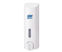 Hotel wall mounted push soap dispenser (AYT-638C-1 white)