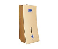 Dispensador manual de gel de baño sin taladro en pared (AYT-638E golden)