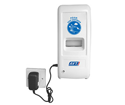 Automatic soap dispenser with AC adapter AYT699