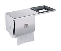 Double Stainless steel toile roll paper dispenser  AYT-009E-1