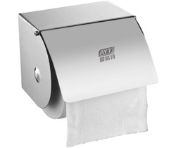 Stainless steel toile roll paper dispenser  AYT-009H