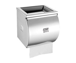 Stainless steel toile roll paper dispenser AYT-009K